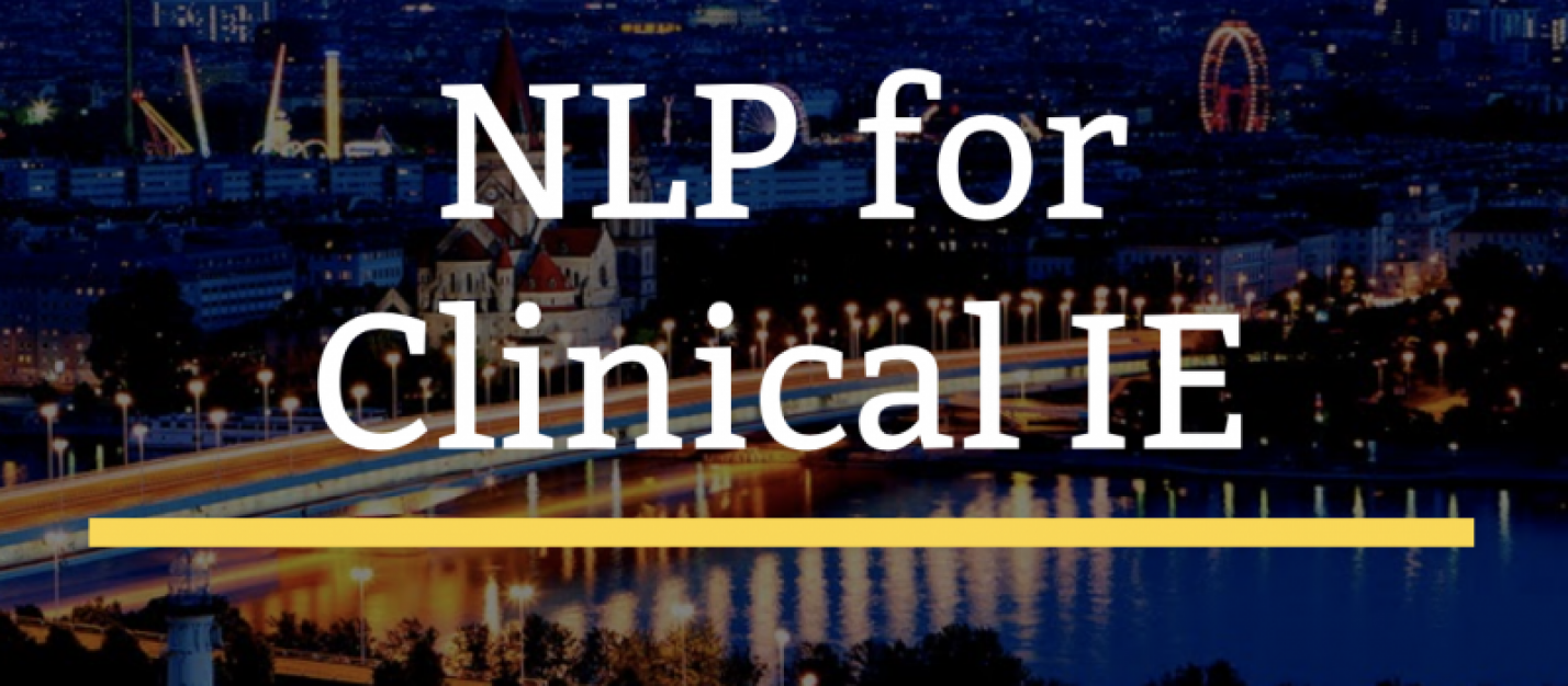 NLP for Clinical Information Extraction tutorial at AIME 2017 conference