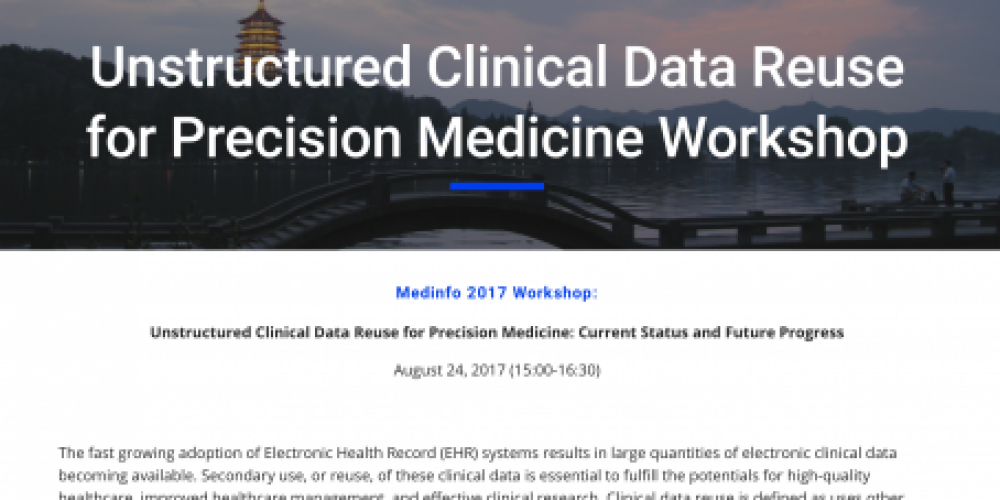 Unstructured Clinical Data Reuse for Precision Medicine