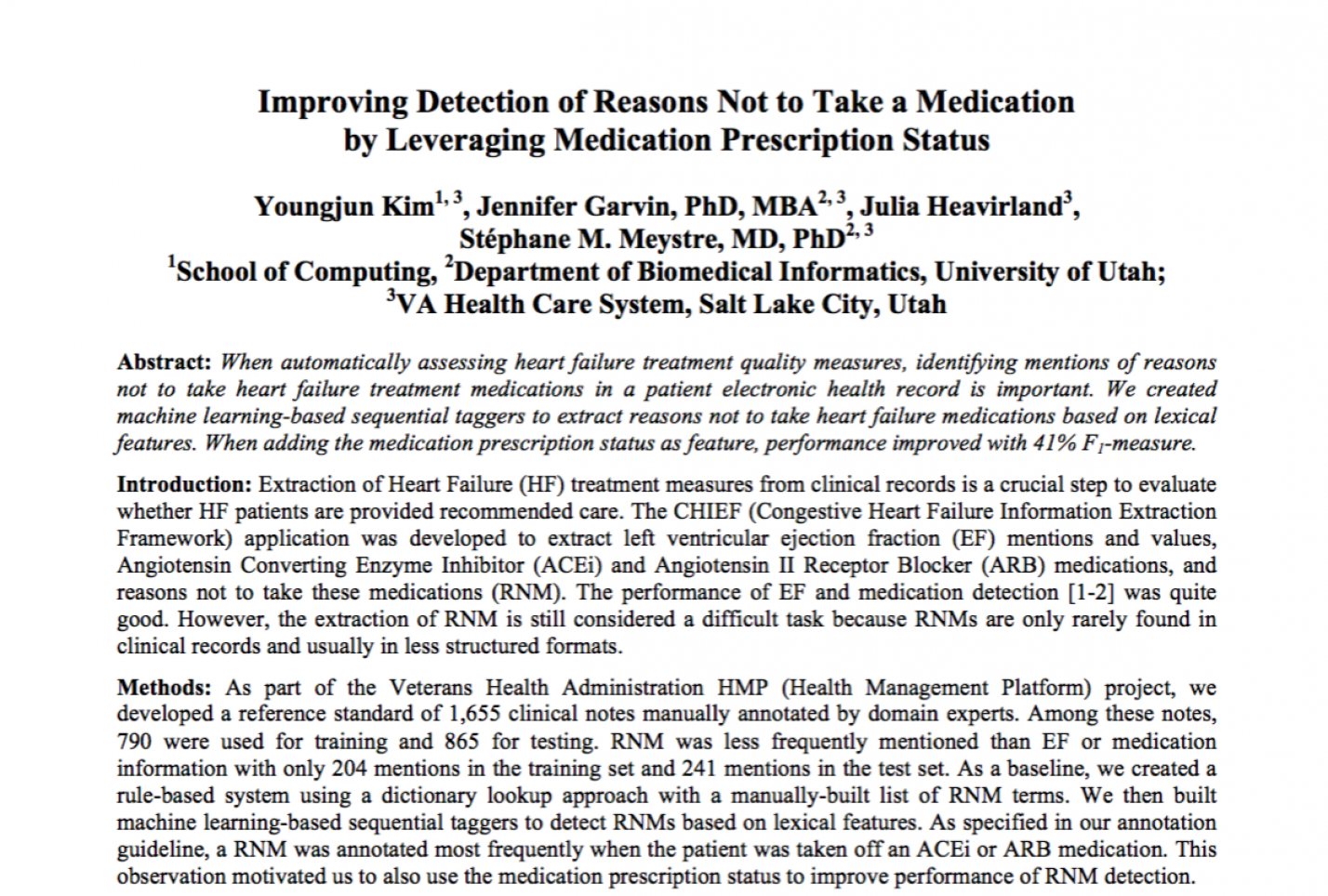 Improving Detection of Reasons Not to Take a Medication by Leveraging Medication Prescription Status