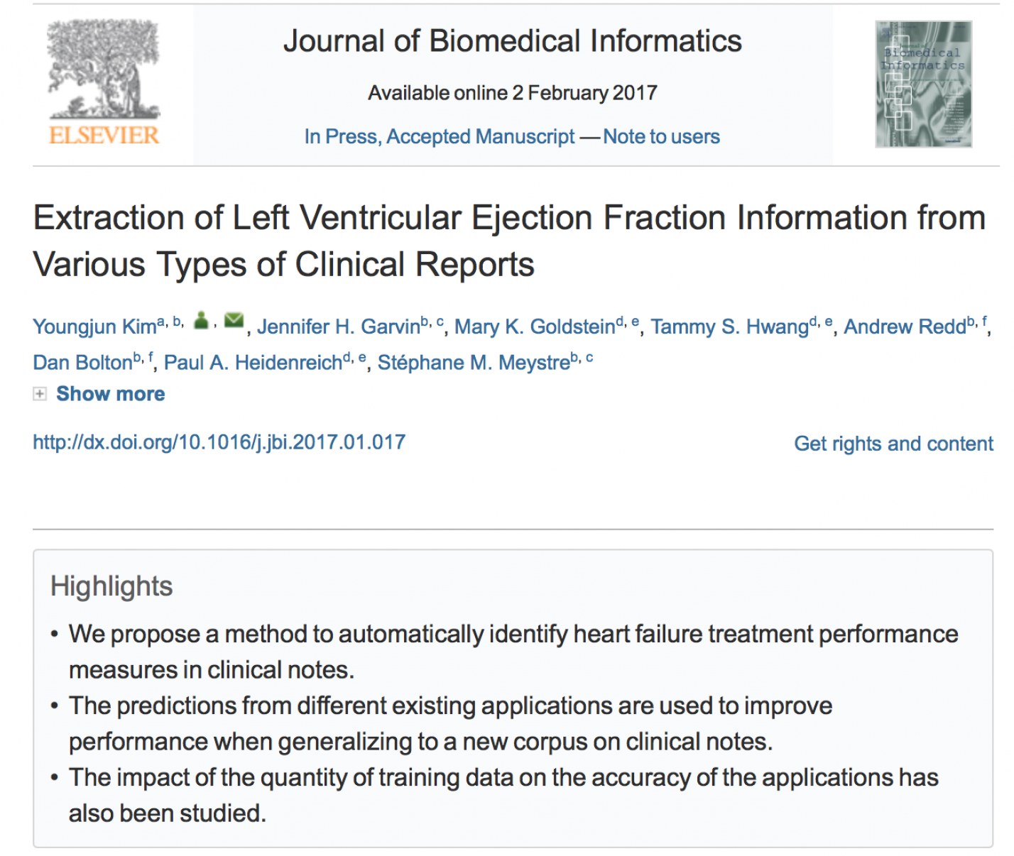 Extraction of Left Ventricular Ejection Fraction Information from Various Types of Clinical Reports